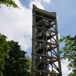 Aussichtsturm auf dem Atzeberg im Hochtaunus.