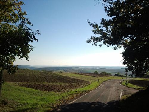 Straße von Feilbingert zur Lemberghütte.