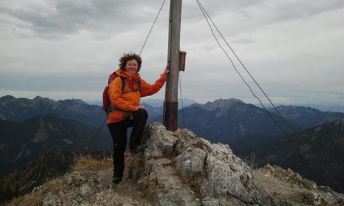 Gipfelglück auf dem Risserkogel.