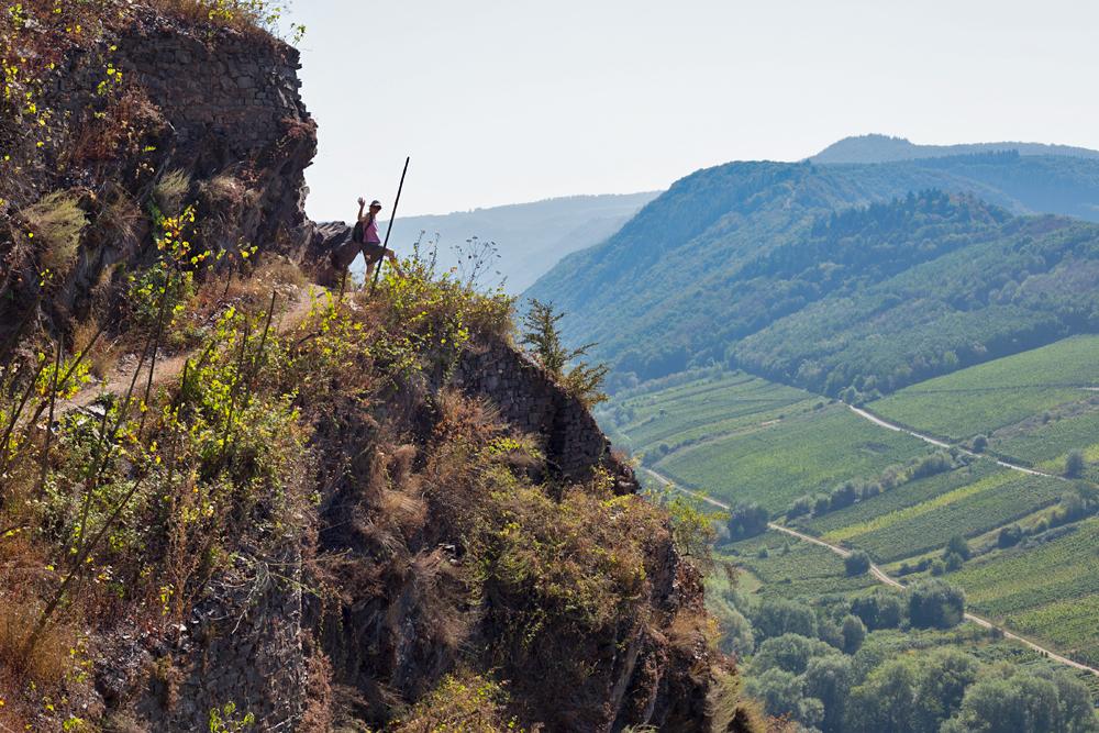 Klettersteig Calmont : Calmont klettersteig an der mosel
