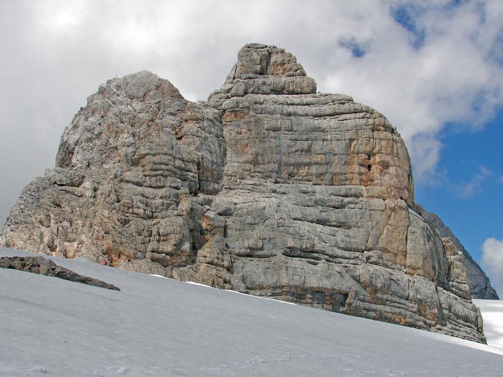 Berge wie ein Höhenprofil