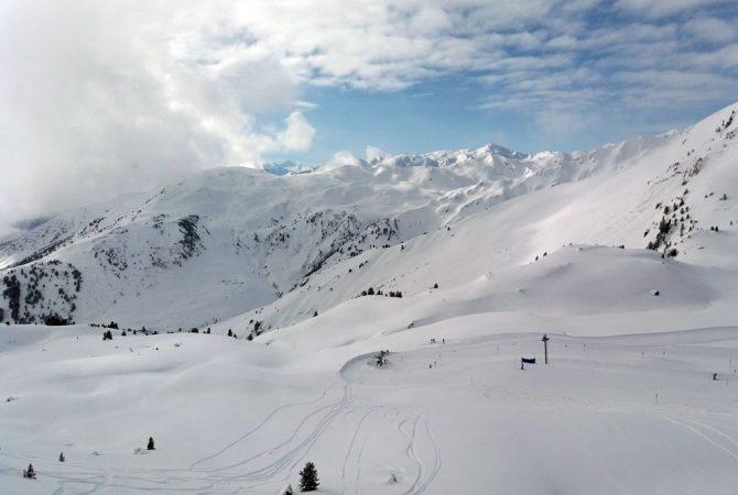Tiefschnee in Tirol