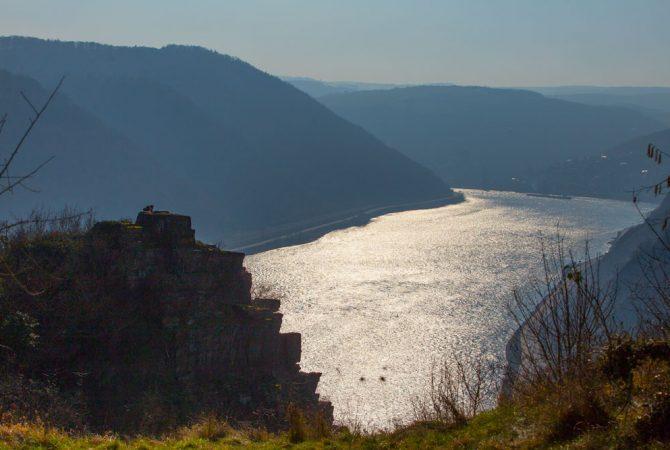 Der Rhein macht auf Gardasee.