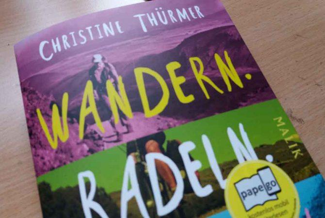 Cover Wandern. Radeln. Paddeln.