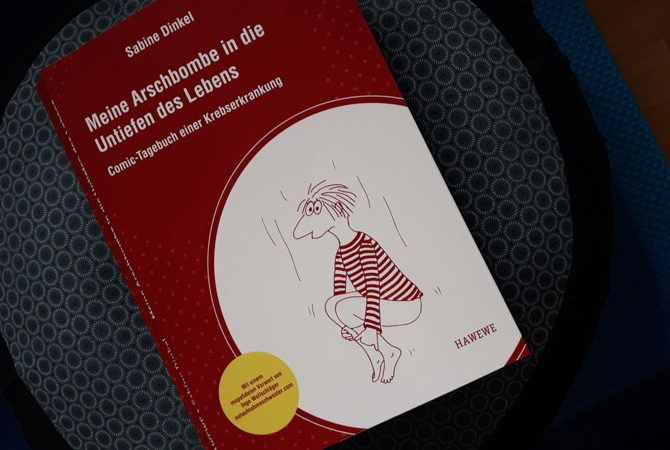 Meine Arschbombe in die Untiefen des Lebens von Sabine Dinkel Cover