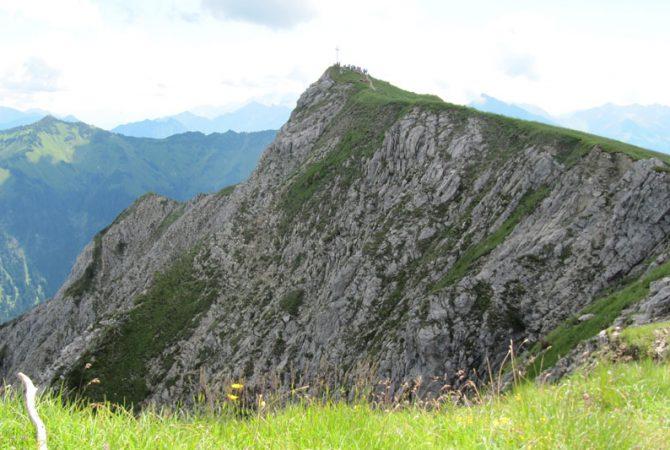 Krinnenspitze im Tannheimer Tal