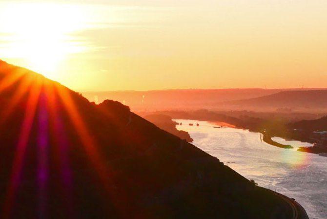 Sonnenaufgang am Damianskopf
