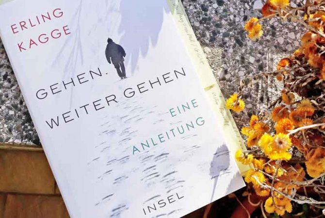 """""""Gehen. Weiter gehen. Eine Anleitung"""" von Erling Kagge"""