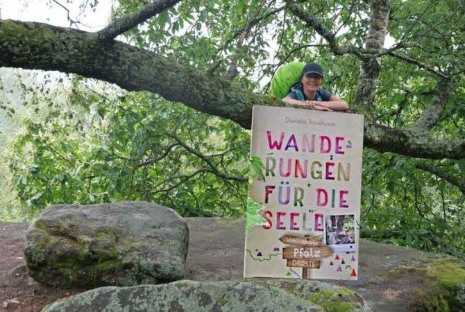 Buchtitel Wanderungen für die Seele - Wohlfühlwege in der Pfalz.