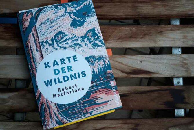 Buch Karte der Wildnis von Robert MacFarlane