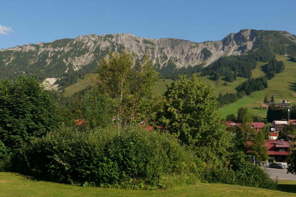 Blick von Oberjoch zum Kühgund